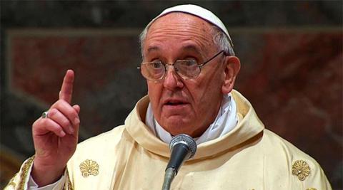 Папа Франциск заявив, що світ воює, але не з ісламом