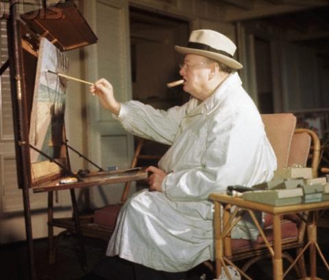 Картини Черчілля продадуть на аукціоні