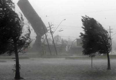 До Києва рухається буревій