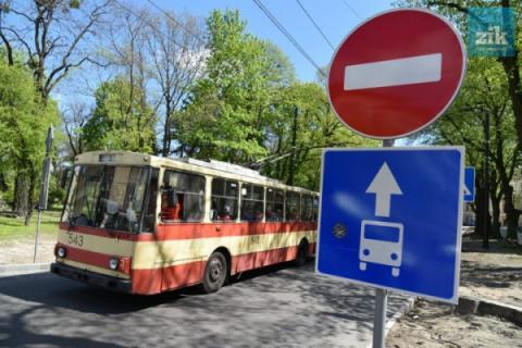У Львові облаштовують «французьку» зупинку громадського транспорту