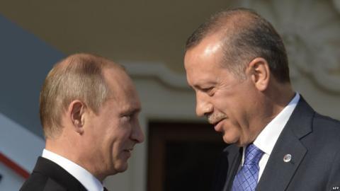 У Петербурзі почалася зустріч лідерів Туреччини і Росії