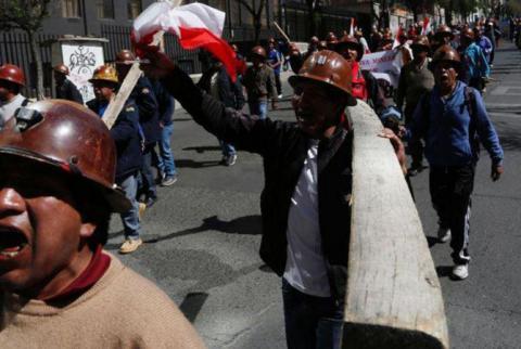 В Болівії шахтарі взяли в заручники поліцейських