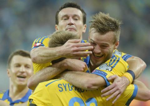 Збірна України в оновленому рейтингу ФІФА перебуває на 30 сходинці