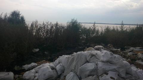 Біля Каховського водосховища знайдено небезпечний могильник