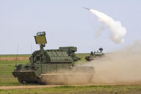 До України переміщується зенітно-ракетний дивізіон російської армії (ВІДЕО)
