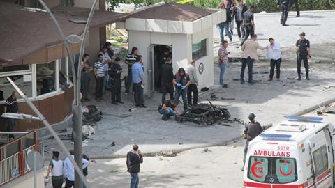 В Туреччині вибухнув поліцейський відділок