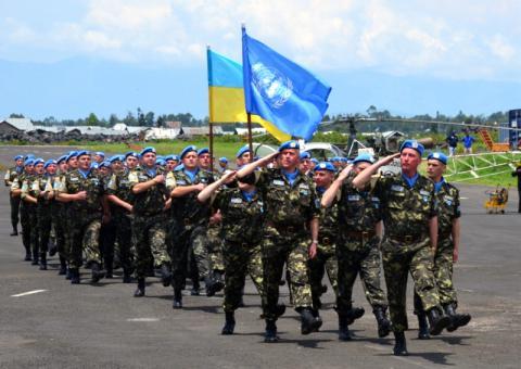Національний контингент України у ДР Конго успішно пройшов інспекцію штабу Місії ООН