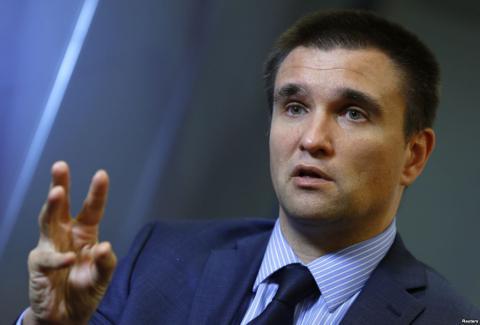 Клімкін спростував слова Порошенко про безвізовий режим