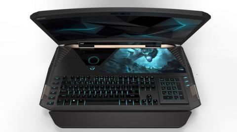Ноутбук із зігнутим дисплеєм від Acer призначений для просунутих геймерів