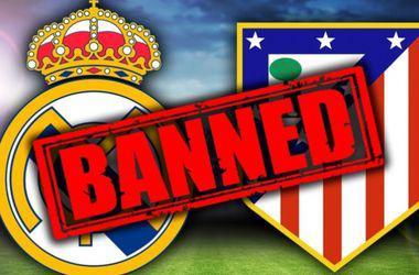 """""""Реалу"""" з """"Атлетіко"""" заборонили реєстрацію нових футболістів"""