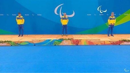 Українці  вибороли усі три медалі в запливі на 200 метрів в Ріо