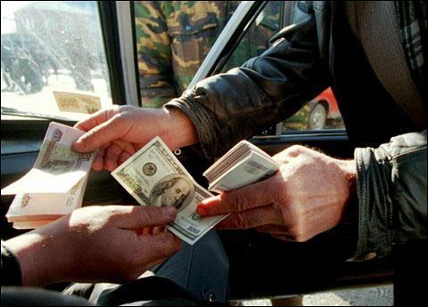 На чорному валютному ринку обертається 1 млрд дол. на місяць