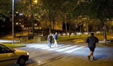 В Києві з'являться наземні переходи з автономним освітленням