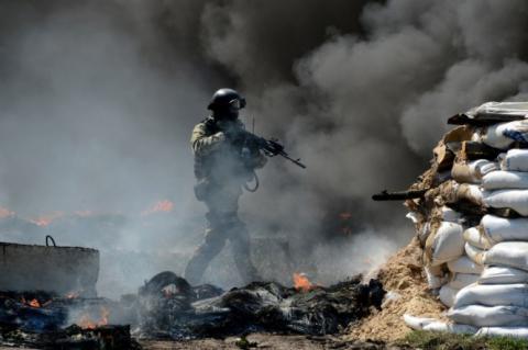 В зоні АТО загинув один бойовик, чотирьох поранено