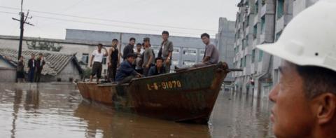 Повінь в КНДР стала найбільшим стихійним лихом за 70 років