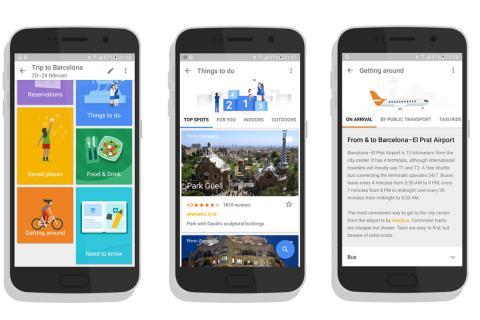 Google створив додаток для мандрів