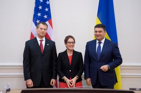 Прем'єр-міністру представлено американські рекомендації щодо реформи української митниці