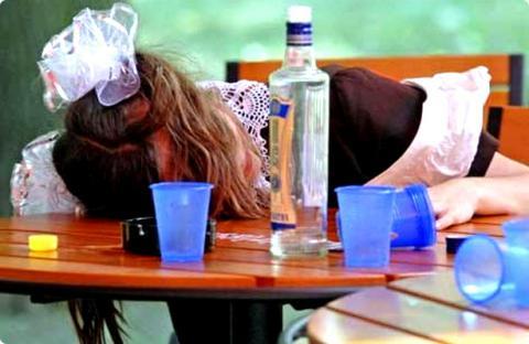 В Україні 83,4% підлітків мають досвід вживання алкоголю, більше половини - куріння