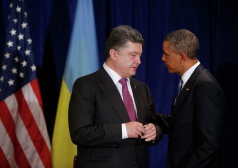 Порошенко та Обама провели переговори про Мінськ