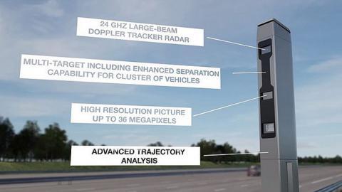 На дорогах Дубая з'явилися 28 камер, що будуть фіксувати всі види небезпечного водіння