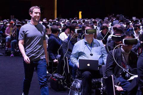 Марк Цукерберг подзвонив дружині з допомогою нового шолома віртуальної реальності