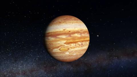 Діаметр циклону на Юпітері сягає близько семи тисяч кілометрів