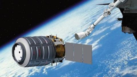 Космічний корабель Cygnus пристикувався до МКС