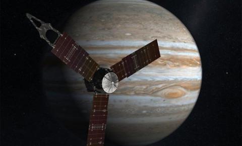 Зонд Juno на орбіті Юпітера вийшов зі сплячого режиму