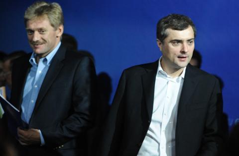 У Суркова немає електронної пошти — Пєсков