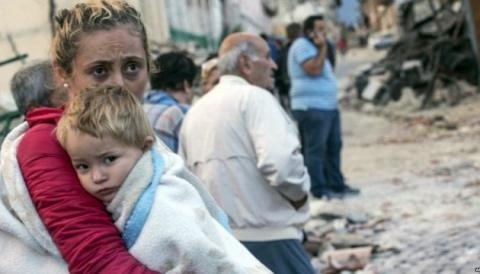 Тисячі людей в Італії ночують на вулиці через землетруси