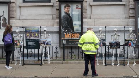 У США відбулись акції протесту проти виступу російського піаніста Мацуєва