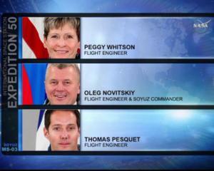 """Троє астронавтів стартували з """"Байконура"""""""