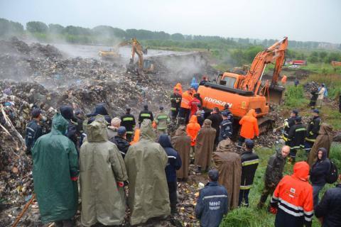 Прокуратура Львівської області завершила досудове розслідування обвалу сміття на Грибовицькому сміттєзвалищі
