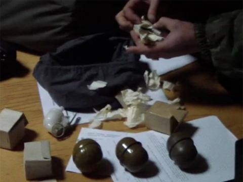 В Маріуполі чоловік збирався везти в Київ сумку із гранатами