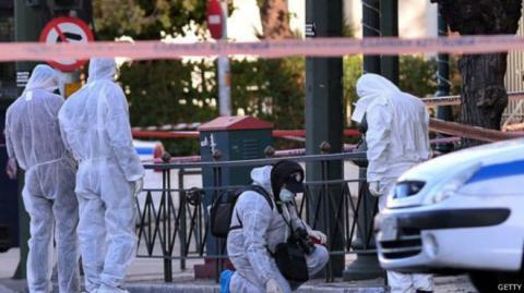 У посольство Франції в Афінах кинули гранату