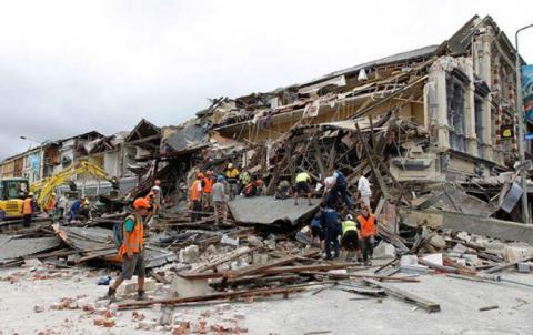 Землетрус у Новій Зеландії завдав значних руйнувань