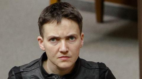 Надія Савченко допомагає Росії в інформаційній війні проти України (ВІДЕО)