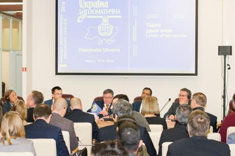15 лютого 2017 року  у ГДІПі відкрили новий прес-центр (ФОТО)