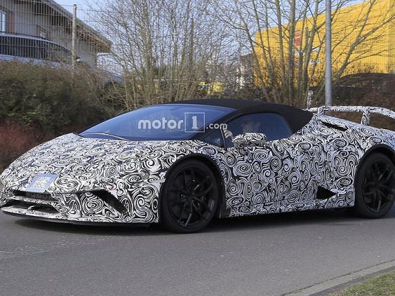 Опубліковані перші фотографії нового спорткара Lamborghini  (ФОТО)