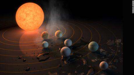 Астрономи виявили 7 планет, на яких може бути життя