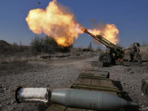 Ситуація в зоні АТО: бойовики активно використовують важке озброєння