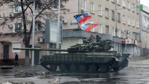 В Росії придумали як прикрити факти поставок озброєння бойовикам на Донбас