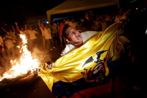 В Еквадорі розпочались протести через результати виборів