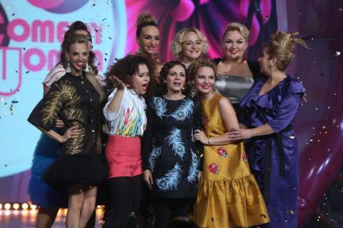 Російське шоу «ComedyWoman» приїхало до столиці України (ВІДЕО)