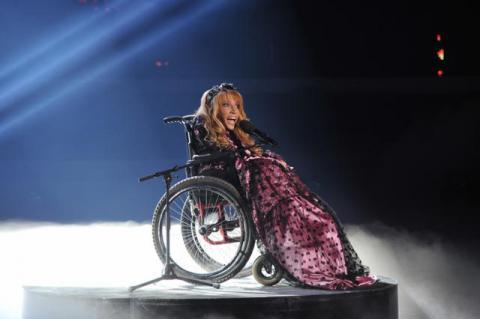 Російська учасниця «Євробачення» готується до виступу на конкурс