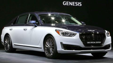 Genesis презентував розкішну версію седана G90 (ВІДЕО)