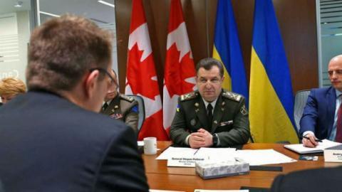 Україна очікує на постачання зброї з Канади