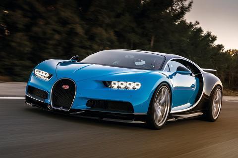 Розкіш та фантастична швидкість: скільки коштує новий Bugatti Chiron (ФОТО)