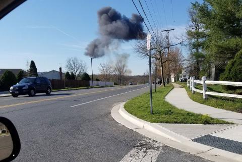 Розбився американський літак з військово-повітряних сил США (ФОТО)