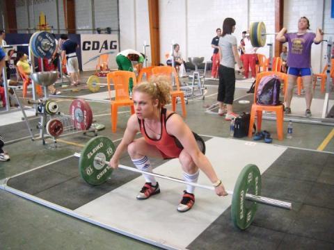 Українка виборола срібло з важкої атлетики